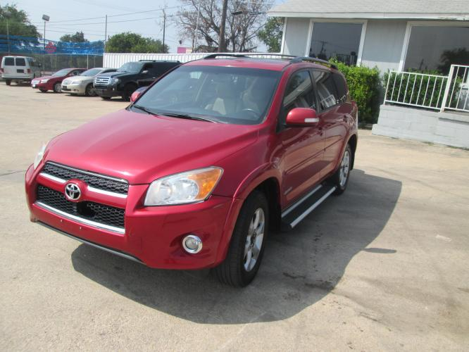 2009 RED Toyota RAV4 Limited I4 2WD (2T3ZF31VX9W) with an 2.4L L4 DOHC 16V engine, 4-Speed Automatic transmission, located at 1815 NE 28th St., Fort Worth, TX, 76106, (817) 625-6251, 32.795582, -97.333069 - Photo #0